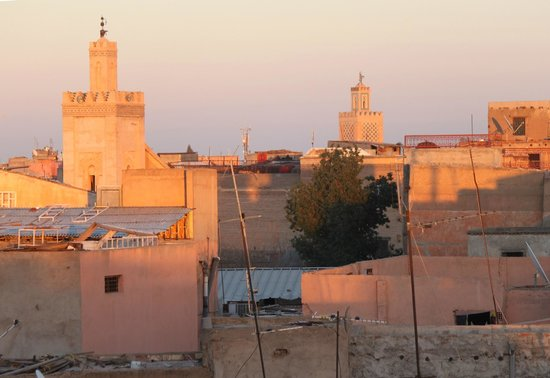 Riad Ilayka : View from the gazebo