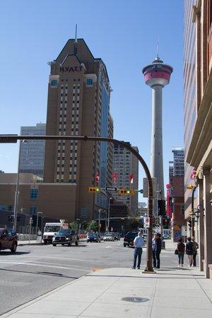 Hyatt Regency Calgary: Good location for exploring Calgary