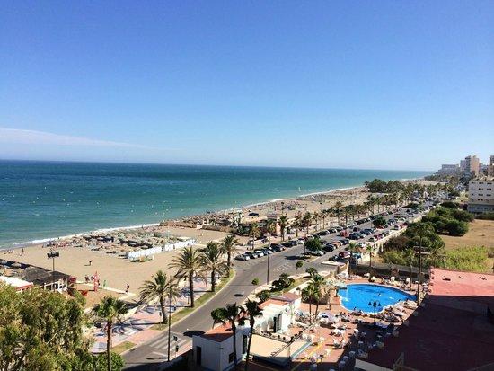 Hotel Puente Real : Met zicht op zee