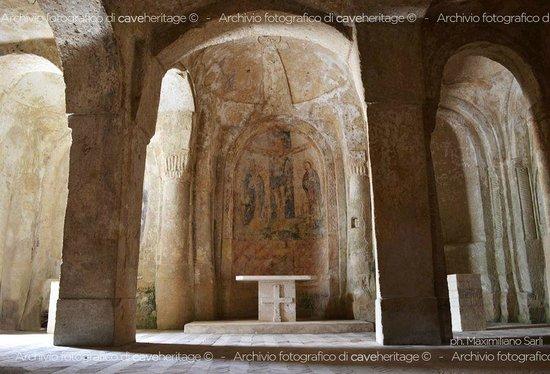 Chiese rupestri Madonna delle Virtu e San Nicola dei Greci