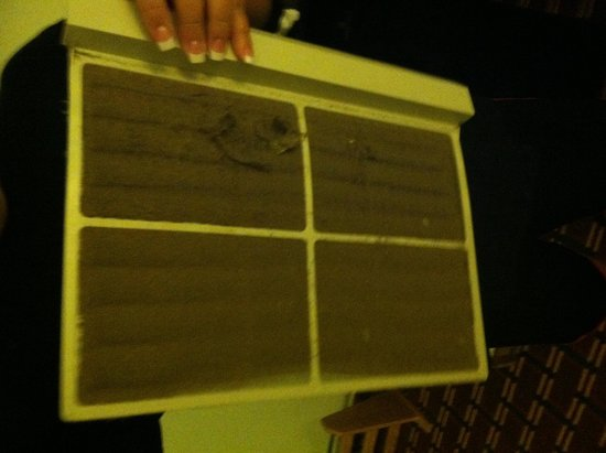 M Star Hotel Atmore: AC filter