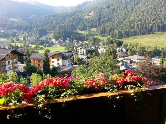 Das Ronacher - Therme & Spa Resort : Blick vom Balkon