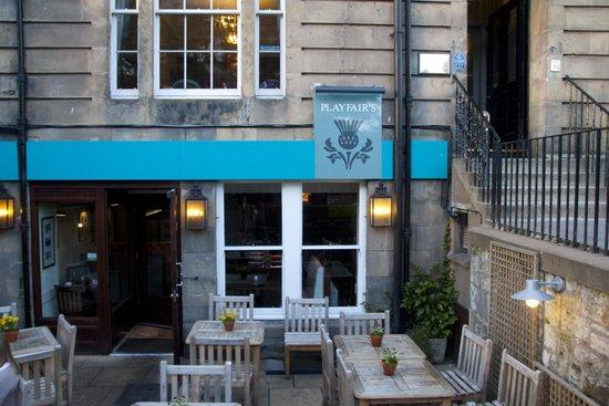 Playfair's Restaurant: чтобы легче найти