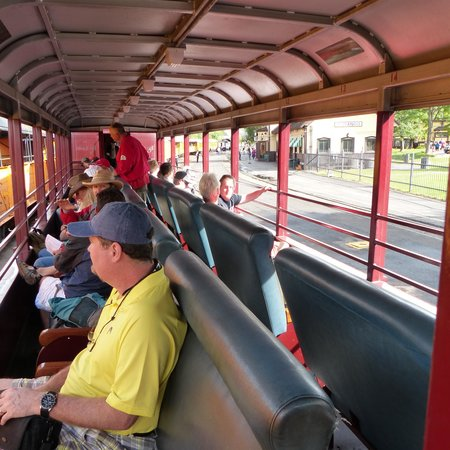 Durango and Silverton Narrow Gauge Railroad and Museum : inside the Rio Grande car