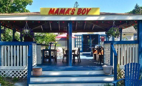 Mama's Boy: Our Gazebo! Great for dining in the great outdoors.