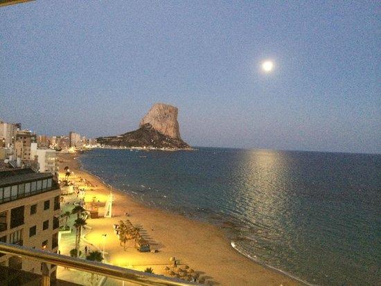 Gran Hotel Sol y Mar: Ifach la nuit