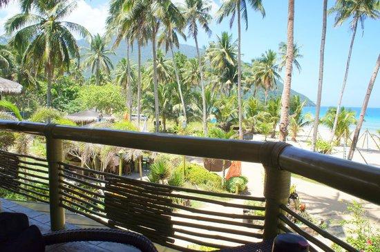Daluyon Beach and Mountain Resort : Balcony