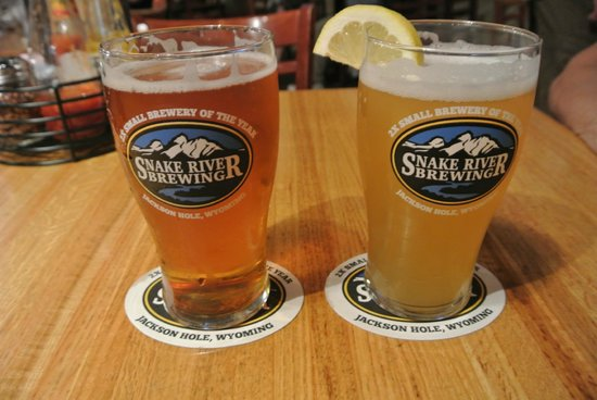 Snake River Brewing: hers vs. his