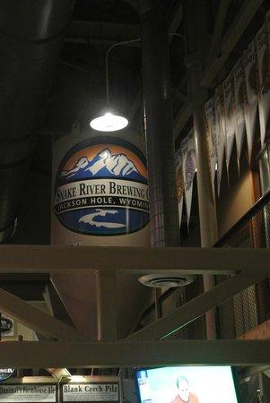 Snake River Brewing: tank inside