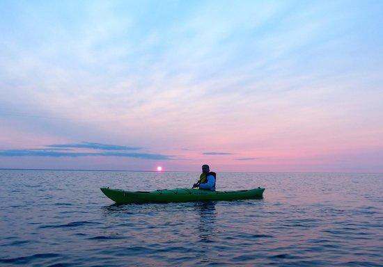Great Turtle Kayak Tours: Incredible Sunrise