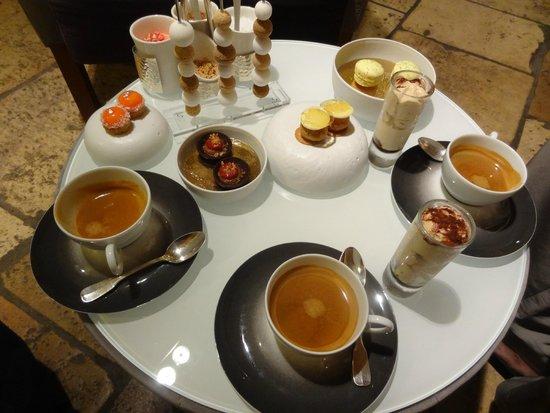 Restaurant Greuze : Service de Café
