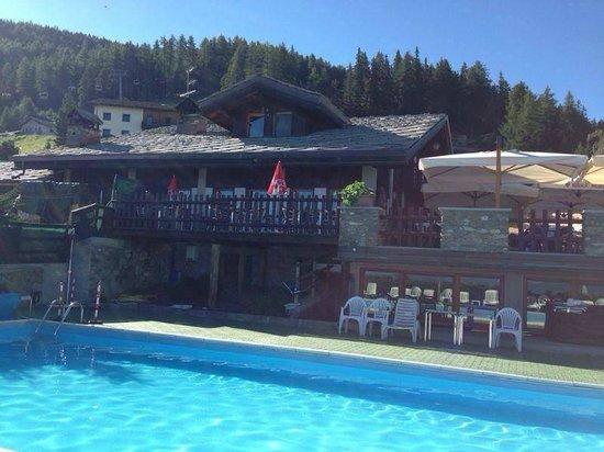 Yeti: La nostra piscina riscaldata a 1800 mt…