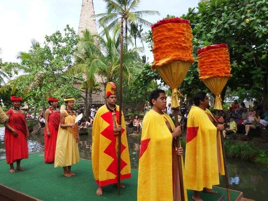 Polynesian Cultural Center : Hawaiian parade