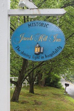 Historic Jacob Hill Inn: Welcome!