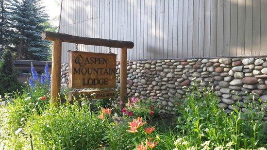 Aspen Mountain Lodge: Signage