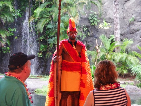 Polynesian Cultural Center : Hawaiian chief