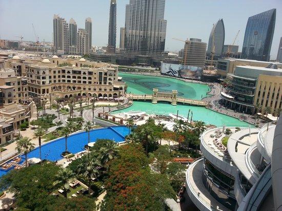The Address Downtown Dubai: vue de la chambre