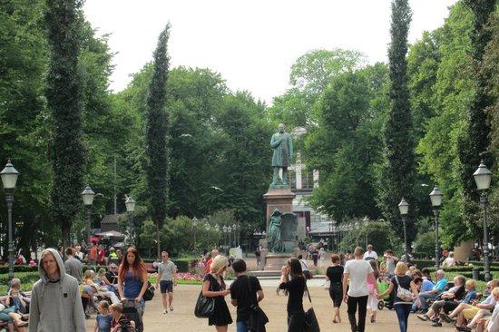 The Esplanadi Park: park 1