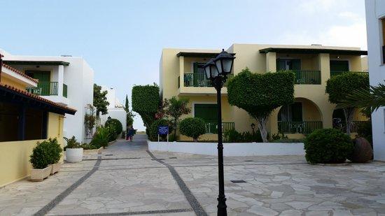 Kefalos Beach Tourist Village: Low buildings