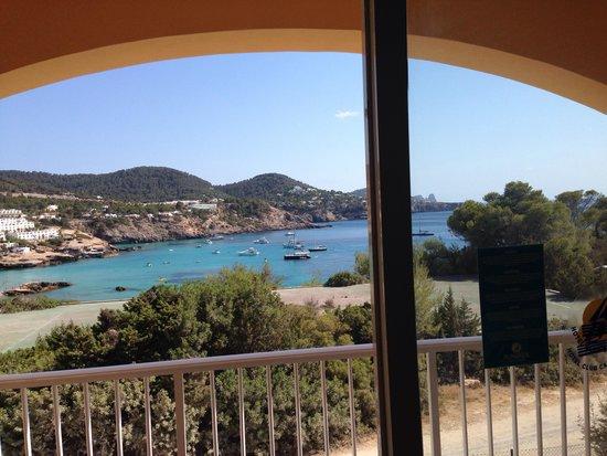 Hotel Club Cala Tarida: Dalla terrazza della camera