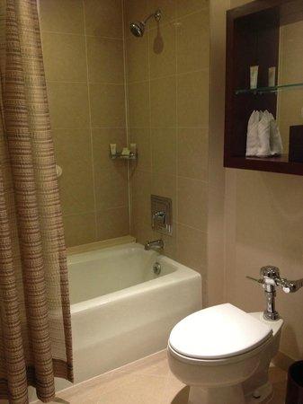 Grand Hyatt Washington: Bagno della camera