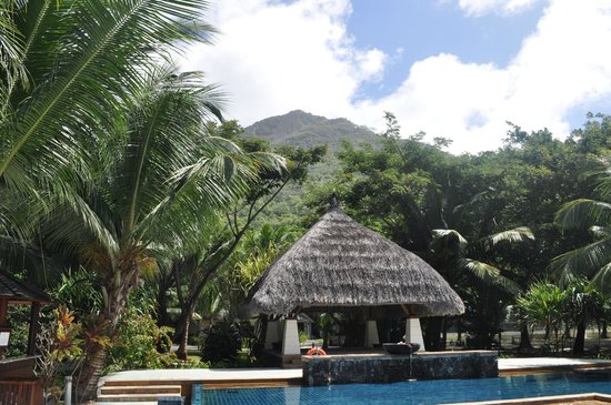 Hilton Seychelles Labriz Resort & Spa : Mountain views
