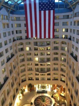 Grand Hyatt Washington: Vista interna dell'hotel