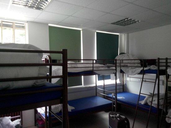 RestUp London: inside dormentary