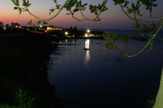 Sea Caves Taverna: Pomos harbour