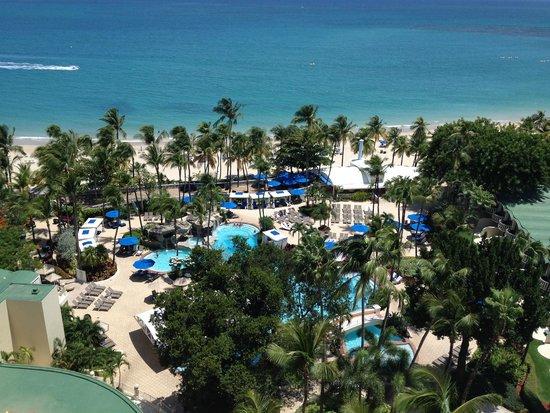 InterContinental San Juan: View From Room
