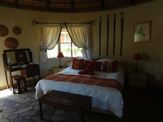 Mohlabetsi Safari Lodge: Zimmer