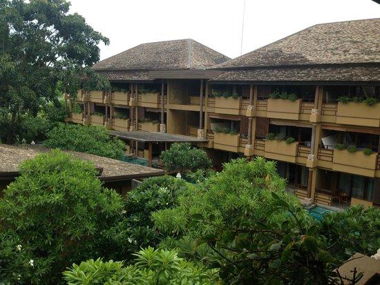 Deva Samui Resort & Spa: vue de la terrasse