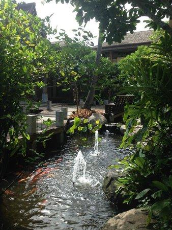 Deva Samui Resort & Spa : le lobby