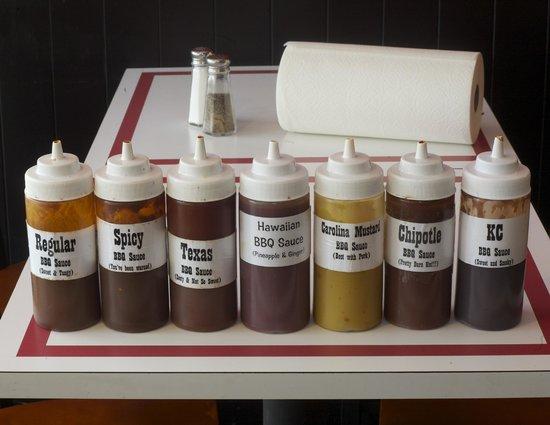 Jazzy John's sauce varities
