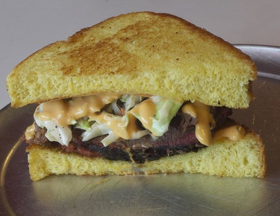 Jazzy John's : The Oakie Reuben - made with brisket