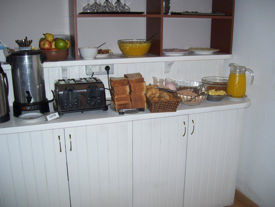 Hotel Milano: breakfast area