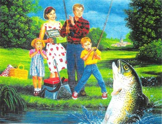 Pêche à la Truite Ludique et Familiale