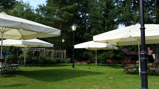 Schönewalde, Deutschland: Heerlijke tuin naast 1000 jarige eiken