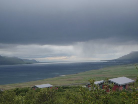 Hotel Glymur: View from hotel over fjord