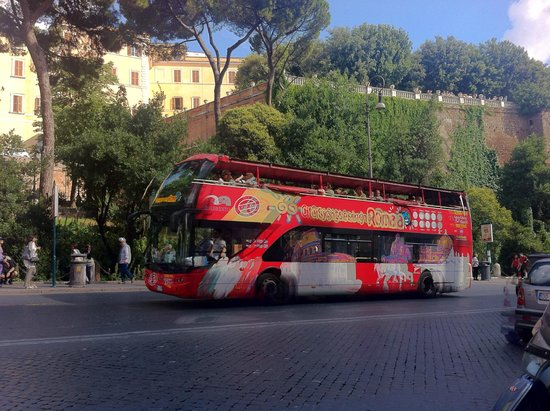 City Sightseeing Rome: Bus