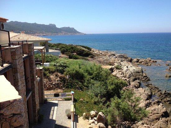 Hotel du Golfe : Vue du balcon