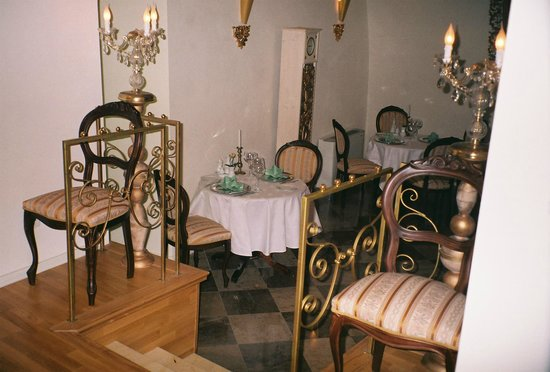 Hotel Amadeus : Waiting area for the dining hall