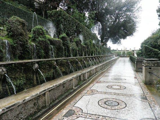 Villa d'Este : Nos jardins da Villa d´Este