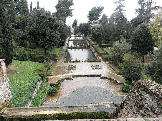 Villa d'Este : Panoramica dos lagos