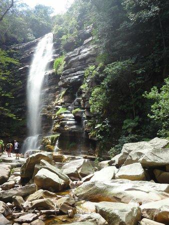 Mosquitos Waterfall: Cachoeira vista de baixo