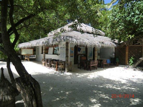 Biyadhoo Island Resort: LE CLUB DE PLONGEE