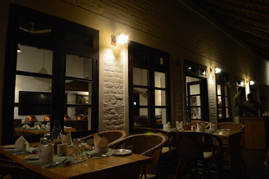 Spice Village : Dining area at night