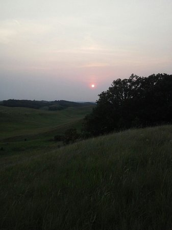Starbuck, MN: Sunset hike