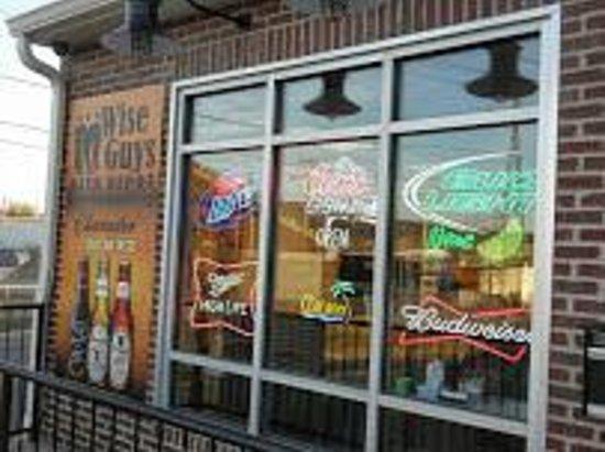 Wise Guys Beer Depot : Left front Windows