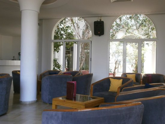Homere Hotel: bar salon de repos